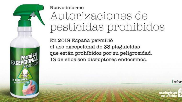 ¿Por qué en 2019 se permitió el uso de 33 plaguicidas prohibidos por su peligrosidad?