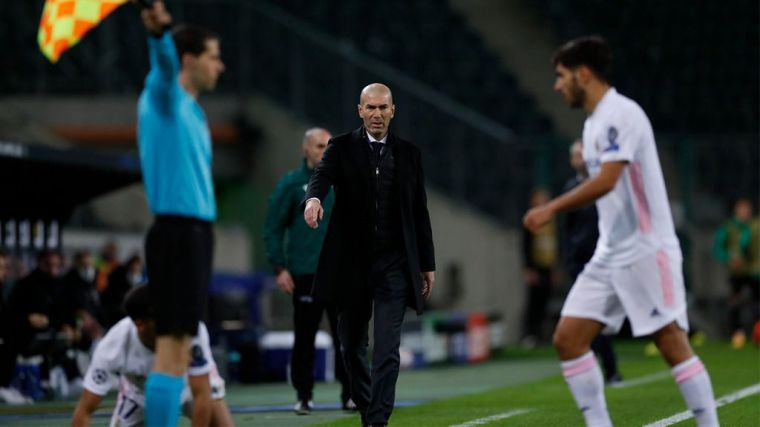 Zidane: 'Es un resultado merecido, aunque podíamos haber ganado'