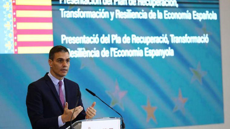 Sánchez: 'El Plan de Recuperación es el más importante de nuestra historia'