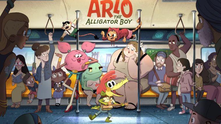 Netflix anuncia película y serie de Arlo, el chico caimán para 2021