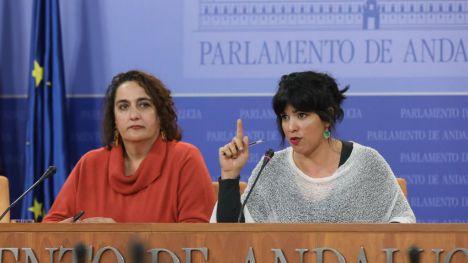 PSOE, Cs y Vox aprueban expulsar de Adelante a Teresa Rodríguez y ocho diputados más