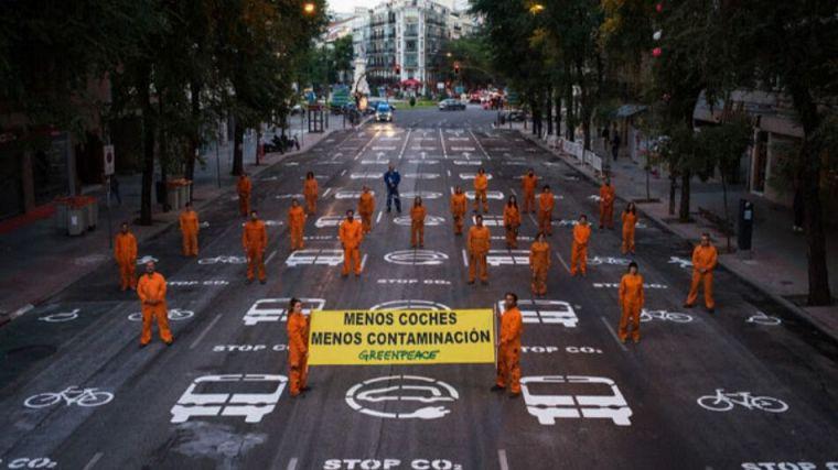 Greenpeace pide priorizar la financiación del transporte público en la nueva Ley de Movilidad
