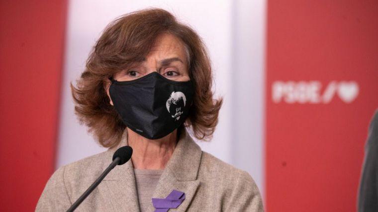 Carmen Calvo y el 25-N: 'Una sociedad que se respeta a sí misma tiene que parar esta violencia'