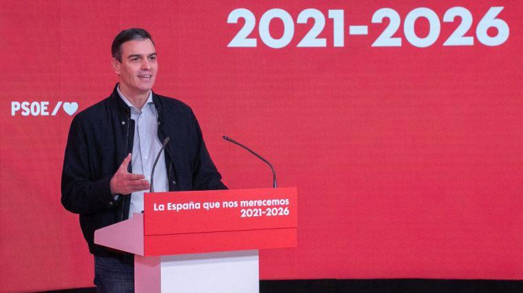 Pedro Sánchez y su aviso a navegantes: 'Acabaremos en 2023 la legislatura'