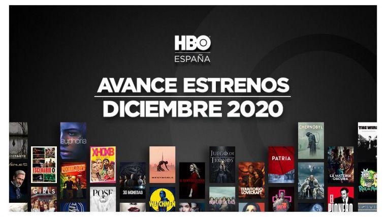 HBO: Avance de estrenos de diciembre