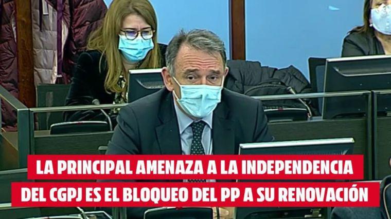 Santiago: 'Arrastramos una situación generada por la restricción de derechos por las reformas de gobiernos del PP'