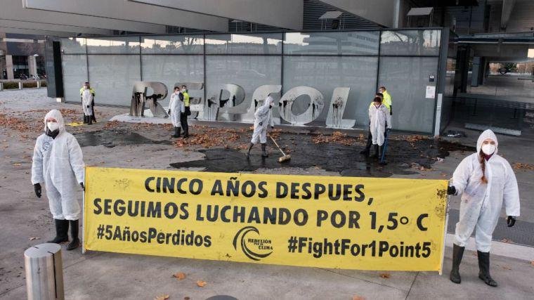 Rebelión por el Clima lidera movilizaciones por todo el país para denunciar la inacción climática