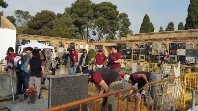 A un paso de la exhumación más numerosa de víctimas del franquismo