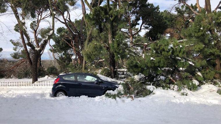 El Ministerio del Interior actualiza las incidencias del temporal