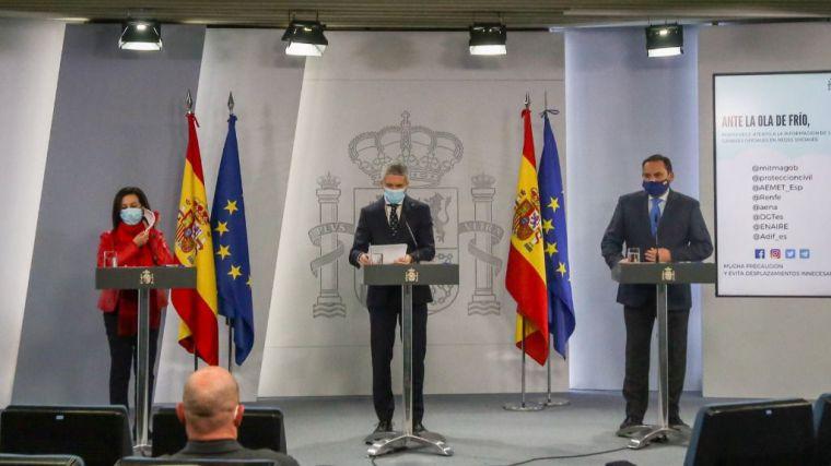 Rueda de prensa tensa en Moncloa