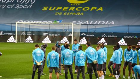 Segunda semifinal de la Supercopa de España