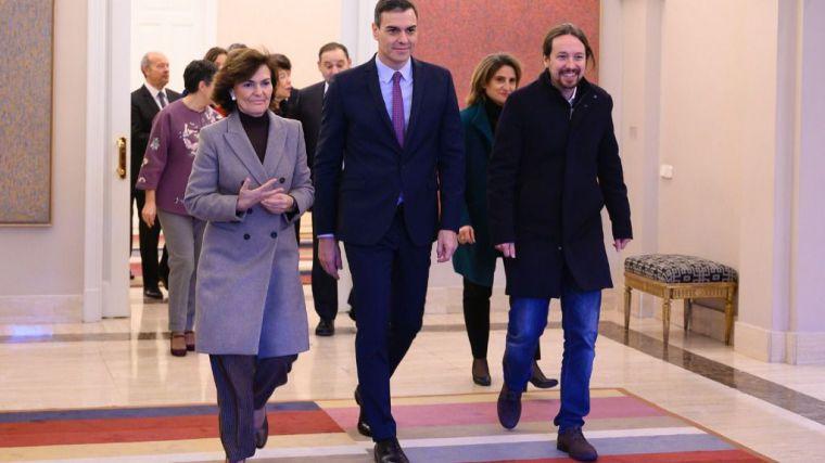 Unidas Podemos eleva el tono ante la postura del PSOE respecto al rey emérito