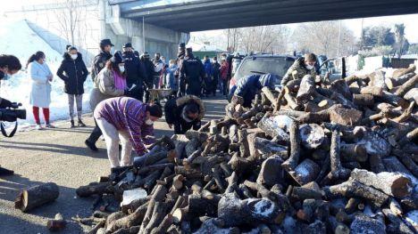 Unidas Podemos reacciona ante la 'inacción' de Ayuso en la Cañada Real