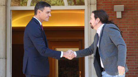 Los españoles siguen apoyando el Gobierno de coalición pese a la pandemia