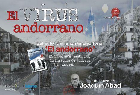 Joaquín Abad presenta su nueva novela 'El virus andorrano'