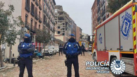 Enorme explosión en el centro de Madrid se cobra al menos dos vidas