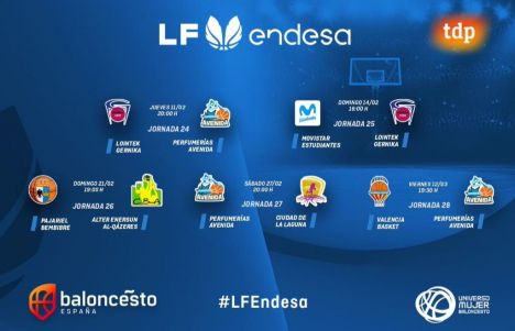 La Liga Femenina Endesa encara su recta final