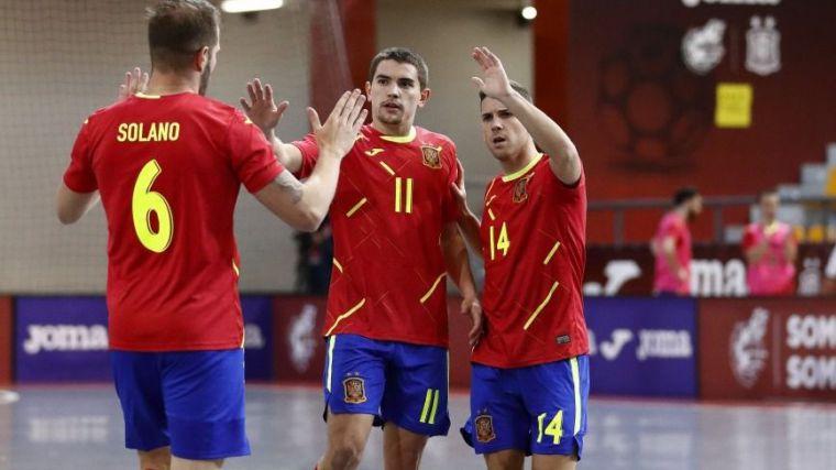 Fútbol Sala: España y Eslovenia cara a cara