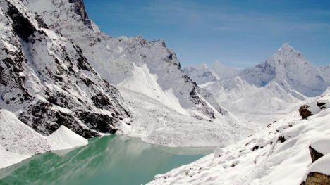 El calentamiento global es culpable del riesgo de inundaciones en lagos glaciares