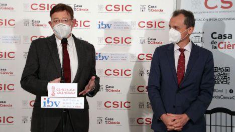 Puig y Duque destacan el liderazgo del sistema de innovación valenciano en la lucha contra la pandemia