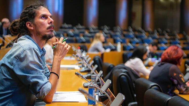 El magistrado instructor del Tribunal Supremo cita a declarar como investigado al diputado Alberto Rodríguez
