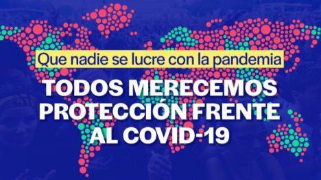 Unidas Podemos impulsa que el Gobierno promueva el acceso universal a la vacuna para erradicar la pandemia