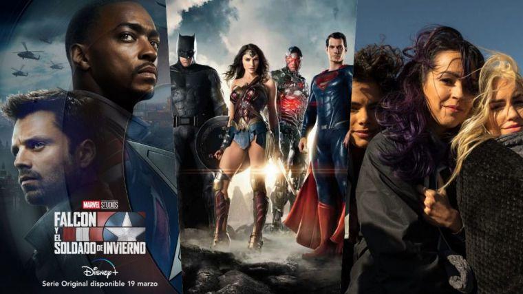 DC vs. Marvel en los estrenos de la semana