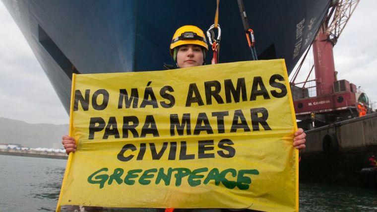 Las ONG retan al Gobierno español a 'abandonar el lado oscuro' y a suspender la venta de armas
