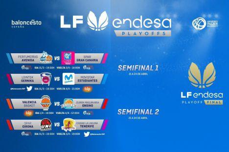 LF Endesa: Primera ronda de Playoffs