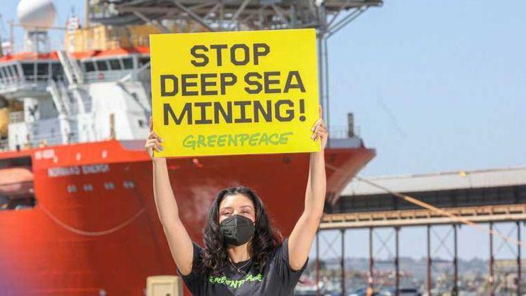 Stop a la minería marina de profundidad