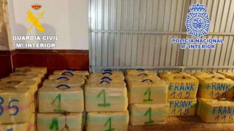 Desarticulada una importante organización dedicada al tráfico de hachís en el Campo de Gibraltar