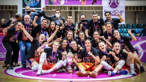 El Valencia BC es el nuevo campeón de la Eurocup Women 2021