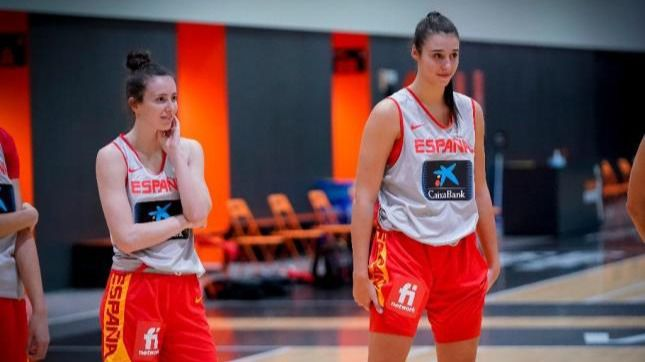 Raquel Carrera y Aina Ayuso estarán en el draft de la WNBA
