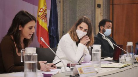 Irene Montero defiende el Plan de acción urgente contra la trata y la explotación sexual