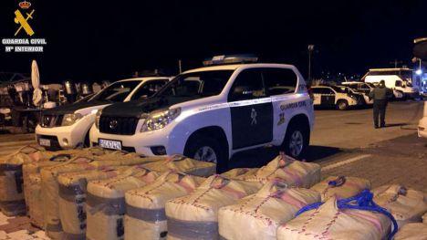El SEMAR de Ceuta interviene 1.100 kilos de hachís