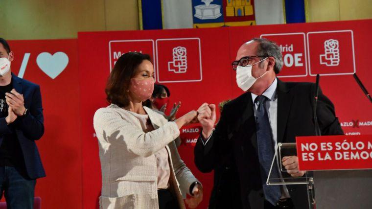 Gabilondo llama 'al pueblo de Madrid a las urnas, contra el fascismo y la ultraderecha'