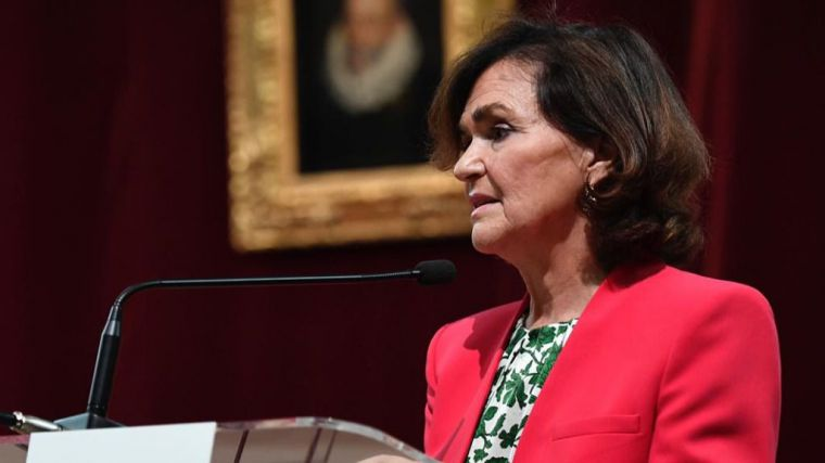 Calvo asegura que 'las mujeres vamos a conducir a nuestro país a donde nuestros problemas sean agenda de Estado'