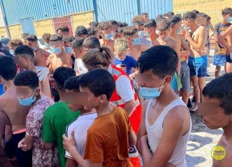 El incremento de fuerzas en Ceuta ayuda, pero no resolverá el problema del pulsito de hoy