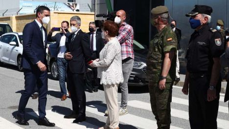Sánchez garantiza la seguridad de Ceuta y sus residentes