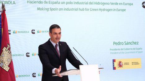 Sánchez y su apuesta por convertir a España en el polo industrial europeo del hidrógeno verde