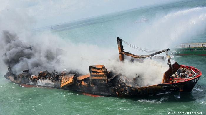 Inminente hundimiento del barco de Sri Lanka: ¿Qué pasa ahora?