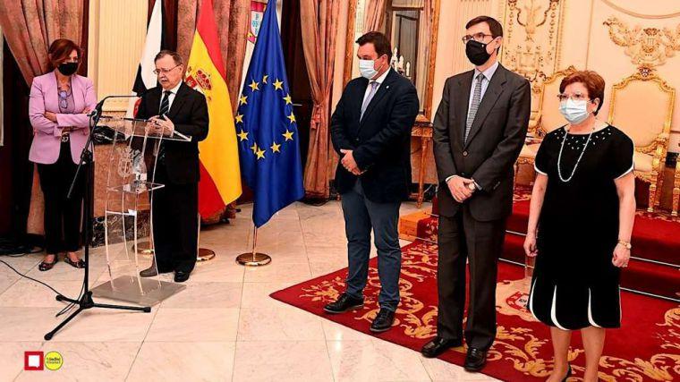 Los secretarios de Estado de Política Territorial y Función Pública, y de Asuntos Europeos visitan Ceuta