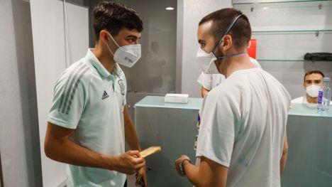 Los jugadores de la Selección española ya están vacunados