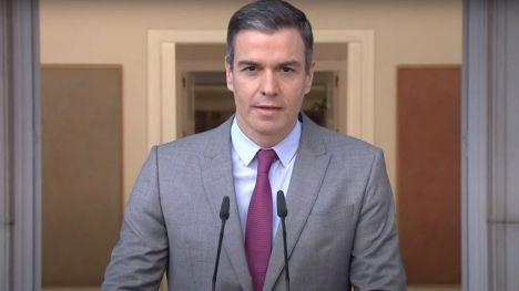 Pedro Sánchez tras la concesión de los indultos: