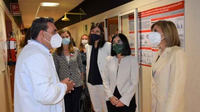 Carolina Darias y la comisaria europea de Salud y Seguridad Alimentaria hacen un llamamiento a la vacunación