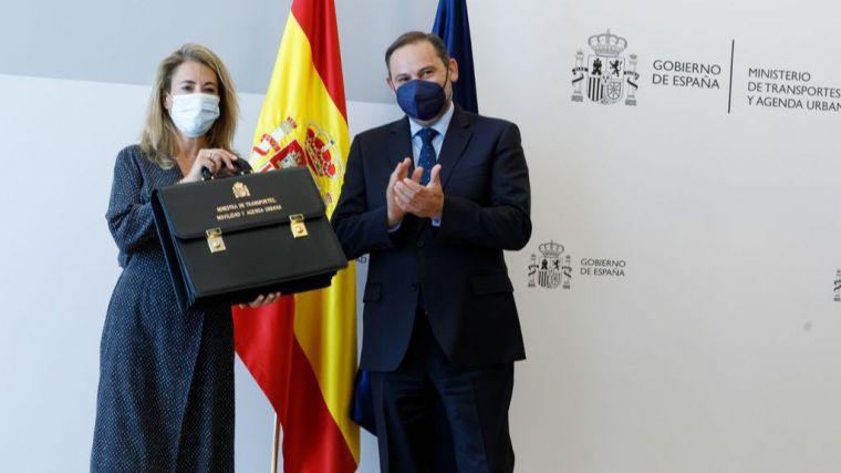 Raquel Sánchez señala a Mitma como la punta de lanza de las grandes transformaciones y de la recuperación económica