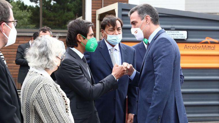 Sánchez señala que España se convertirá en un referente mundial en la descarbonización de la producción de acero