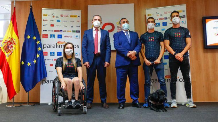 El equipo paralímpico español para los Juegos de Tokio estará formado por 135 deportistas