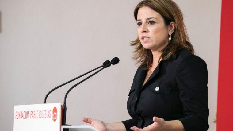 Adriana Lastra: 'La derecha nos lleva al callejón sin salida y sin futuro de la confrontación permanente'