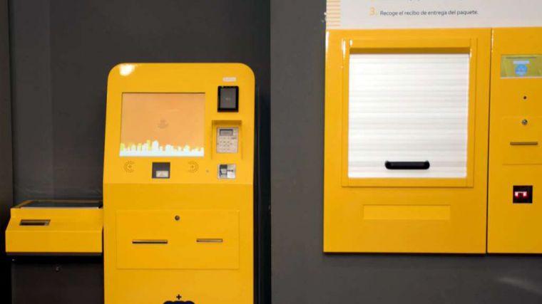 Correos instala 'máquinas autoservicio' para el depósito de paquetes